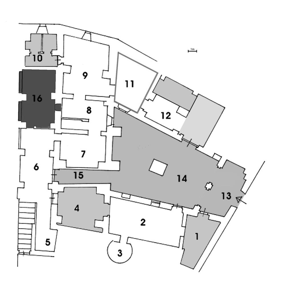 Pianta del Museolaboratorio