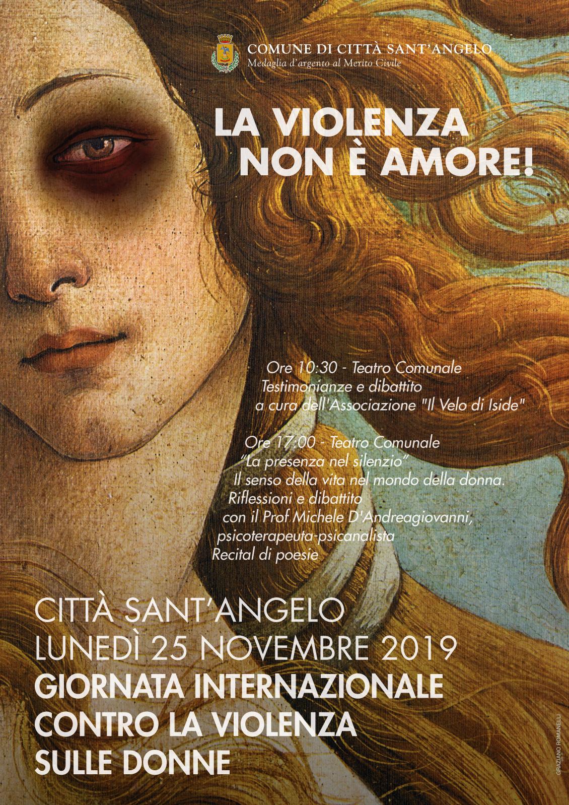 giornata internazionale contro la violenza sulle donne 2019 visit citta sant angelo la violenza sulle donne 2019